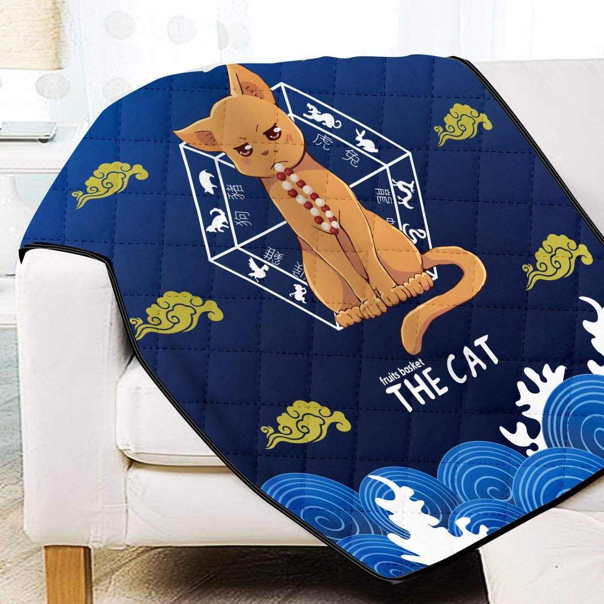 Kyo the Cat Quilt Blanket - Fandomaniax-Store