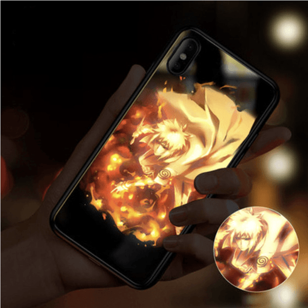 LED Glowing Naruto Phone Case - Fandomaniax-Store