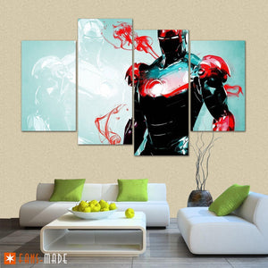 Mark of Iron 4 Piece Canvas - Fandomaniax-Store