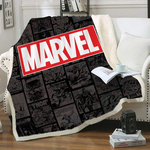 Marvel Throw Blanket - Fandomaniax-Store