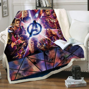 Marvel Universe Throw Blanket - Fandomaniax-Store