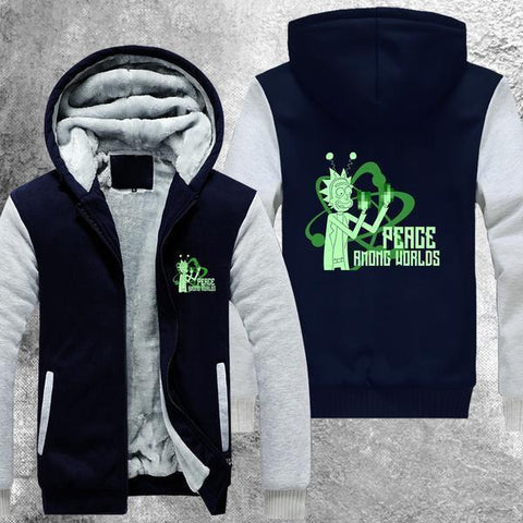 Peace Among Worlds Fleece Jacket - Fandomaniax-Store