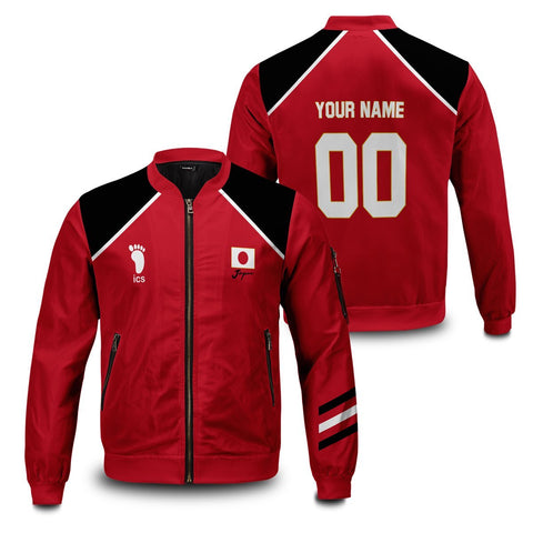 Personalized Haikyuu National Team Bomber Jacket - Fandomaniax-Store