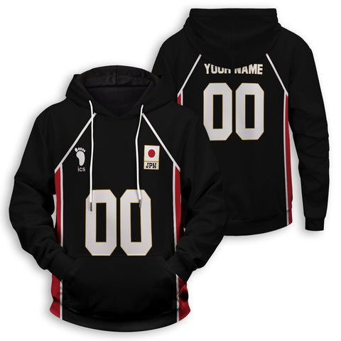 Personalized Haikyuu National Team Libero Unisex Pullover Hoodie - Fandomaniax-Store