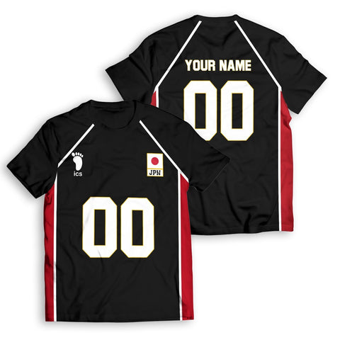 Personalized Haikyuu National Team Libero Unisex T-Shirt - Fandomaniax-Store
