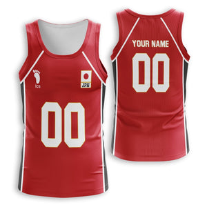Personalized Haikyuu National Team Unisex Tank Tops - Fandomaniax-Store