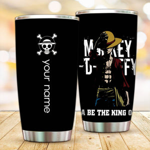Personalized Straw Hat Luffy Tumbler - Fandomaniax-Store