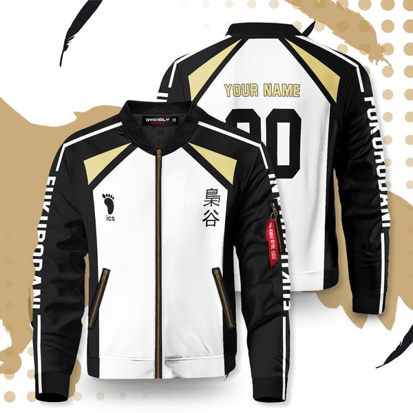Personalized Team Fukurodani Bomber Jacket - Fandomaniax-Store