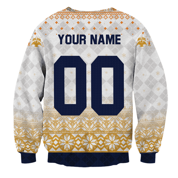 Personalized Team Schweiden Adlers Christmas Unisex Wool Sweater - Fandomaniax-Store