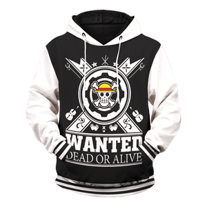 Pirate Dead or Alive Unisex Pullover Hoodie - Fandomaniax-Store