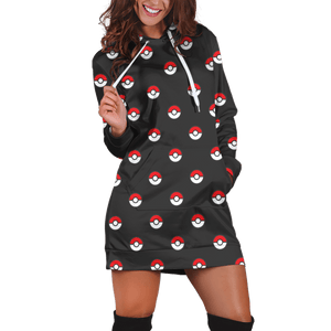 Poke Hoodie Dress - Fandomaniax-Store