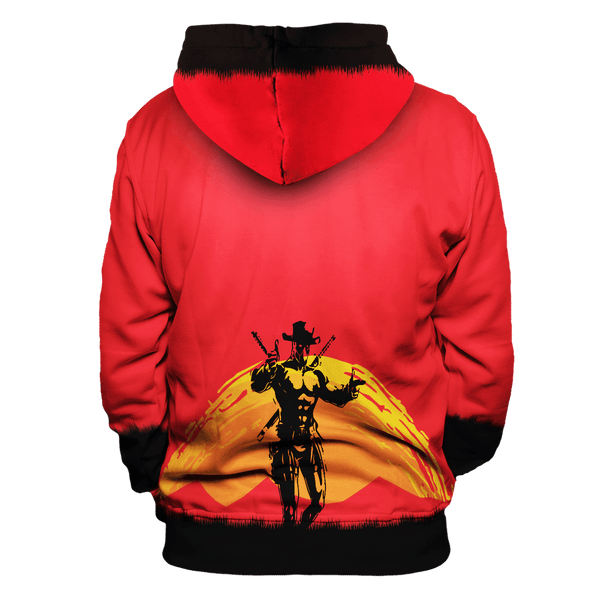 Red Merc Unisex Pullover Hoodie - Fandomaniax-Store