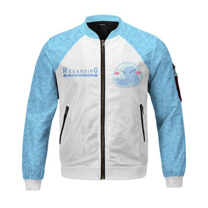 Reincarnated to Slime Bomber Jacket - Fandomaniax-Store