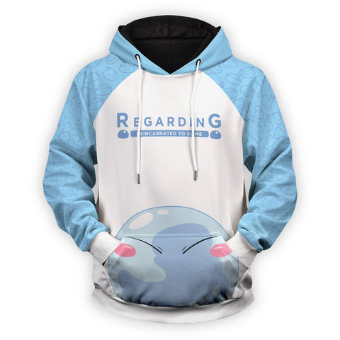 Reincarnated to Slime Unisex Pullover Hoodie - Fandomaniax-Store