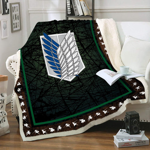 Scouting Legion Throw Blanket - Fandomaniax-Store
