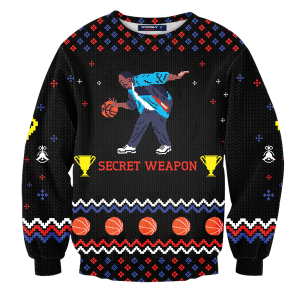 Secret Weapon Stanley Unisex Wool Sweater - Fandomaniax-Store
