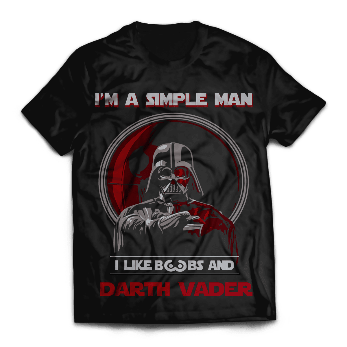 Simple Man Unisex T-Shirt - Fandomaniax-Store