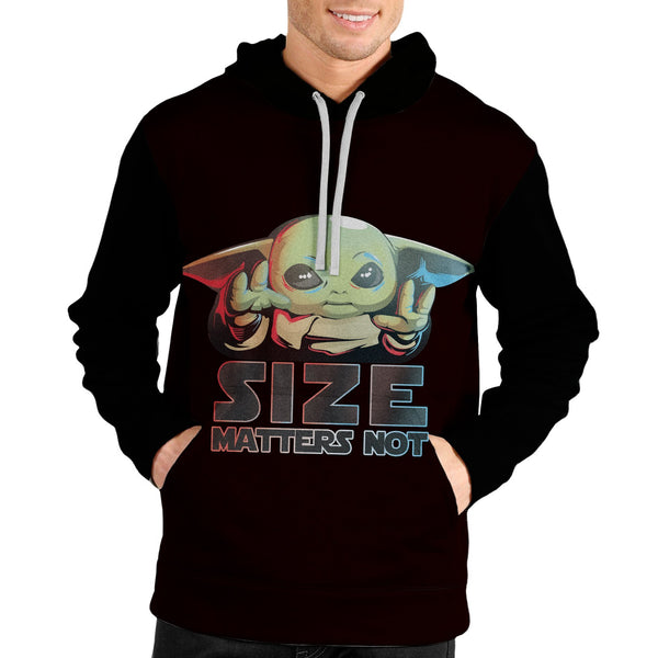 Size Matters Not Unisex Pullover Hoodie - Fandomaniax-Store