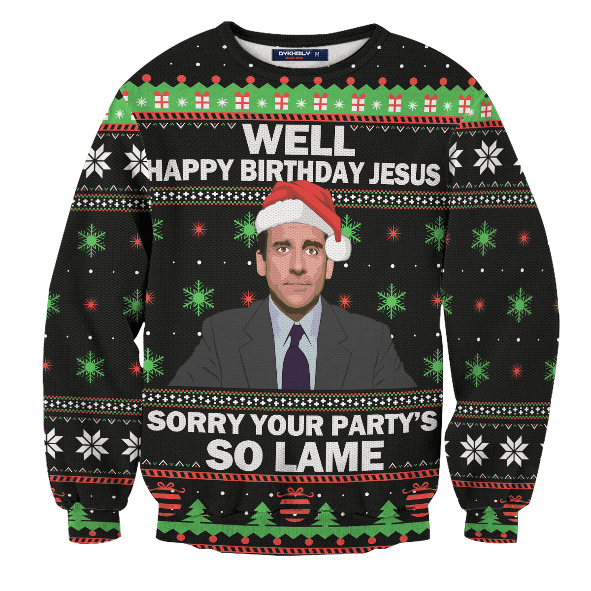 So Lame Party Unisex Wool Sweater - Fandomaniax-Store
