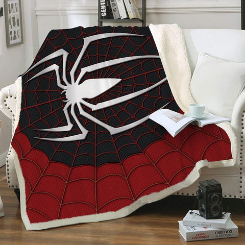 Spider Sense Throw Blanket - Fandomaniax-Store