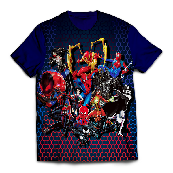 Spiderman Multiverse Unisex T-Shirt - Fandomaniax-Store