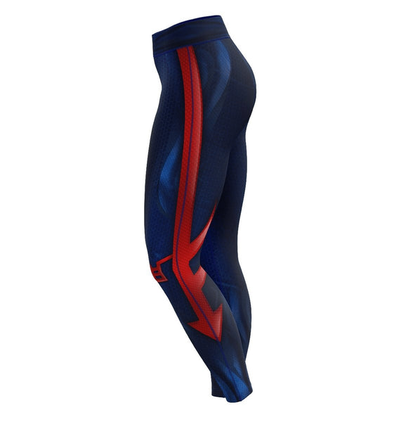 Spidey 2099 Unisex Tights V2 - Fandomaniax-Store