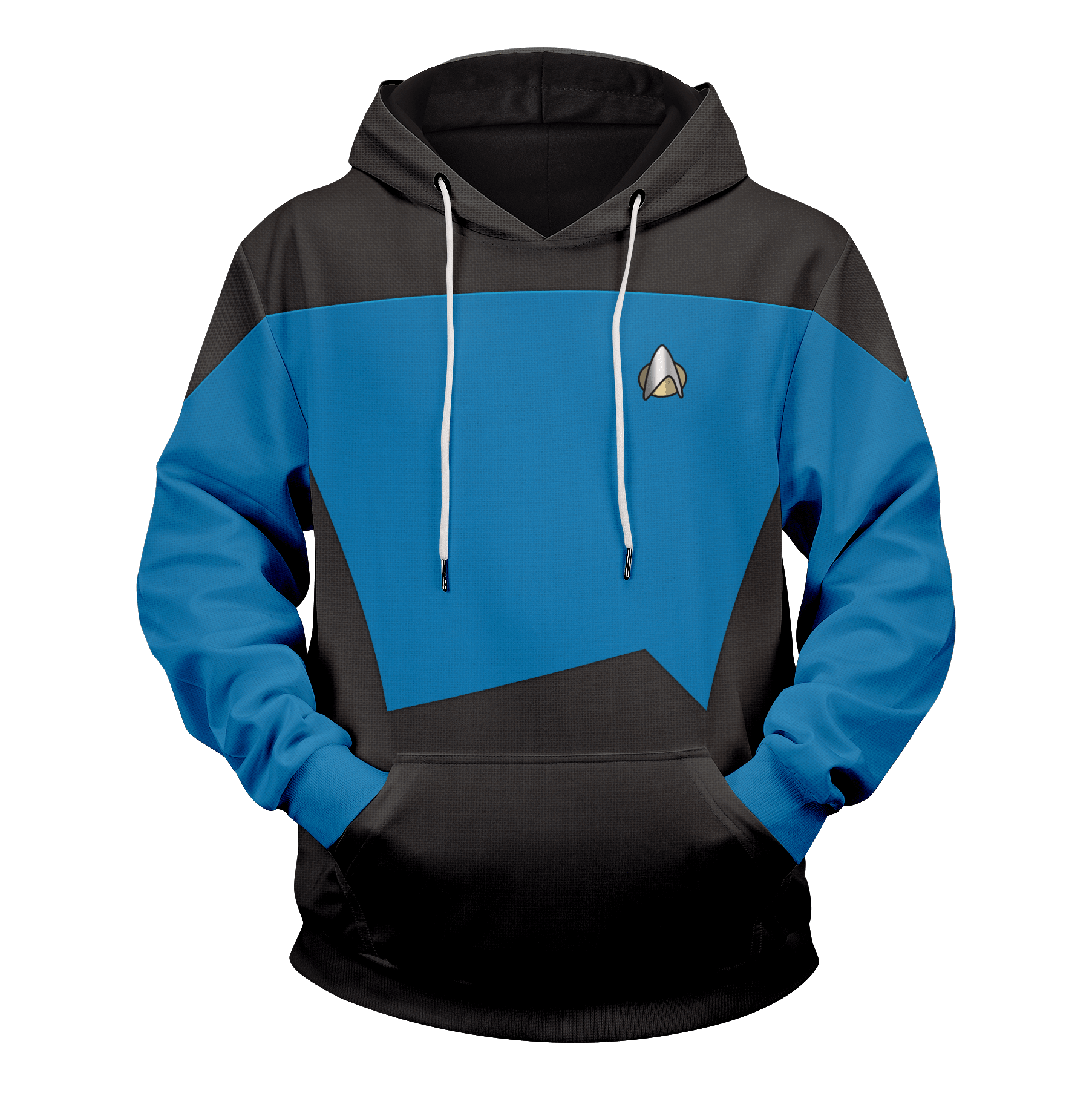 Starfleet Science Division Unisex Pullover Hoodie - Fandomaniax-Store