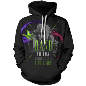 Starwars I To the hand you Talk Unisex Pullover Hoodie - Fandomaniax-Store