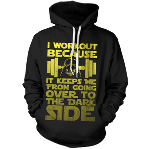 Starwars I Why I Work Out Unisex Pullover Hoodie - Fandomaniax-Store