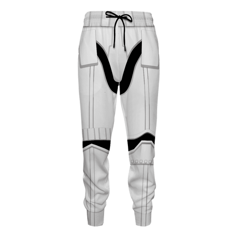 Storm Trooper Jogger Pants - Fandomaniax-Store