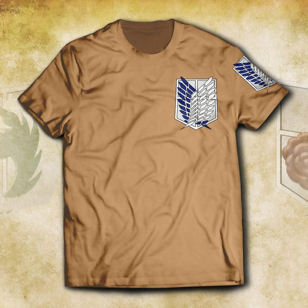Survey Corps Unisex T-Shirt - Fandomaniax-Store