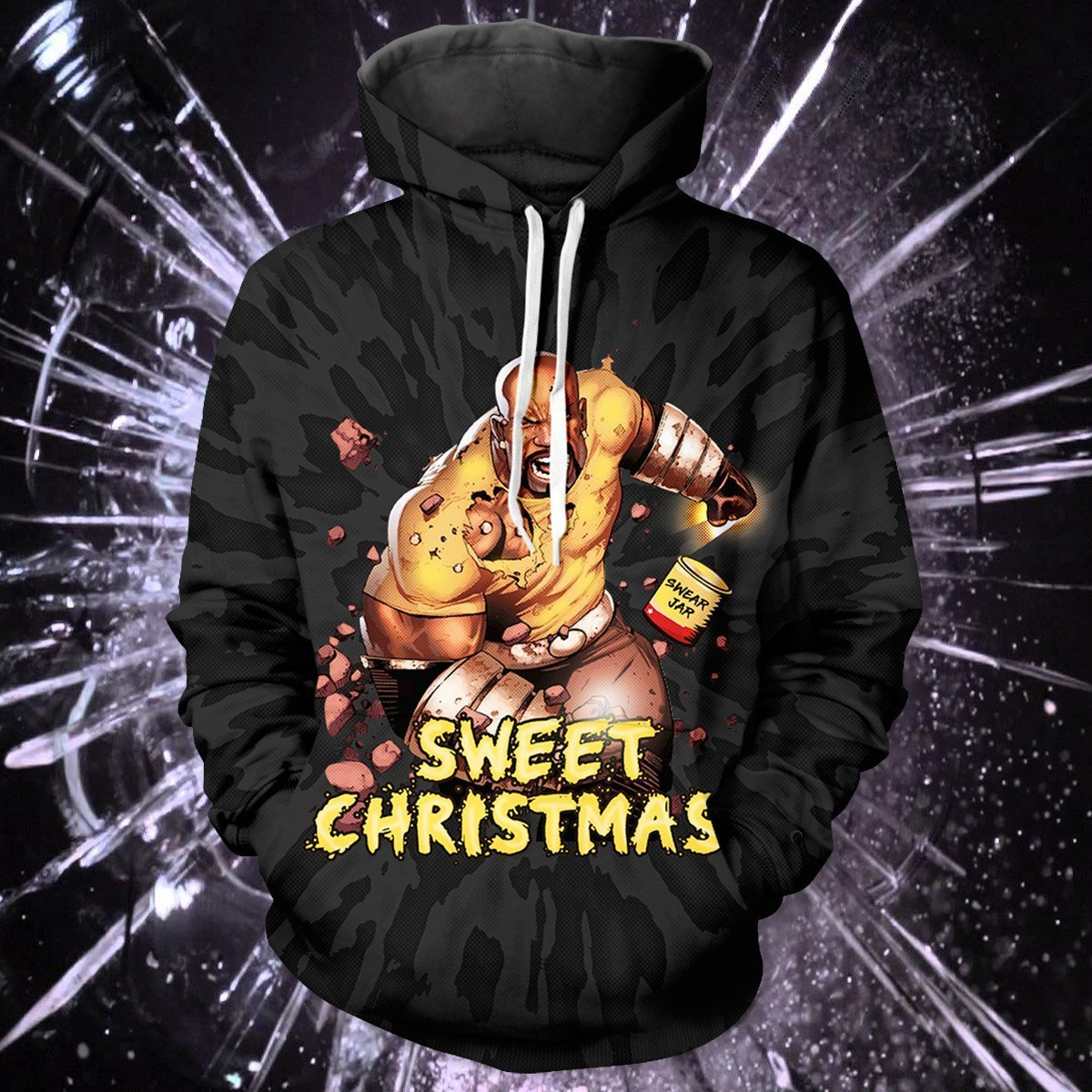 Sweet Xmas Unisex Pullover Hoodie - Fandomaniax-Store