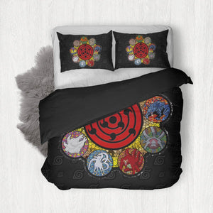 Tailed Beast Bedding Set - Fandomaniax-Store