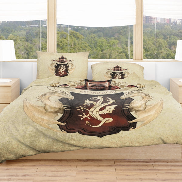 Targaryen Blood Bedding Set - Fandomaniax-Store