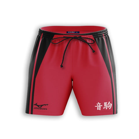 Team Nekoma Beach Shorts - Fandomaniax-Store