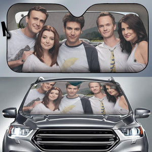 Ted and Friends Auto Sun Shade - Fandomaniax-Store