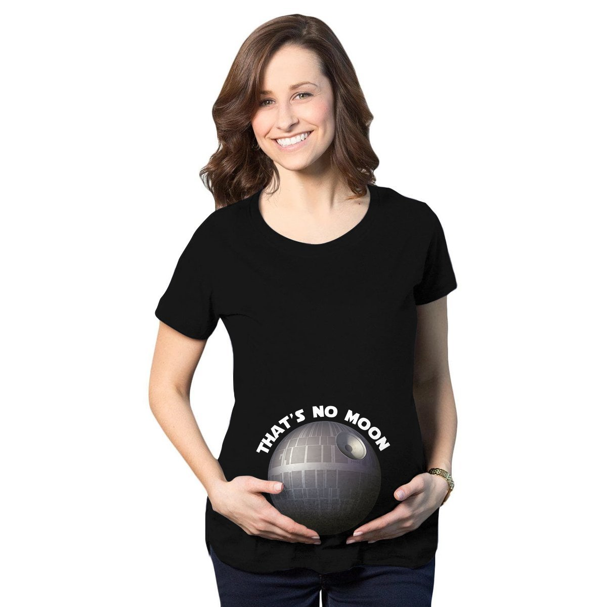 That's No Moon Maternity T-Shirt - Fandomaniax-Store