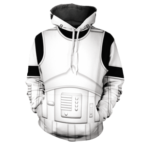 The Empire Storm Trooper V2 Unisex Pullover Hoodie - Fandomaniax-Store