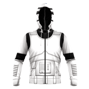 The Empire Storm Trooper V2 Unisex Zipped Hoodie - Fandomaniax-Store