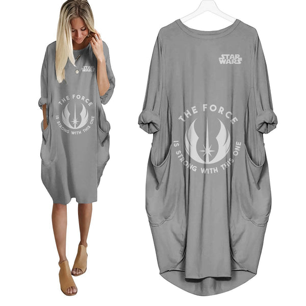 The Force Is Strong Dress V2 - Fandomaniax-Store