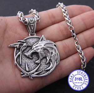The Witcher Necklace - Fandomaniax-Store