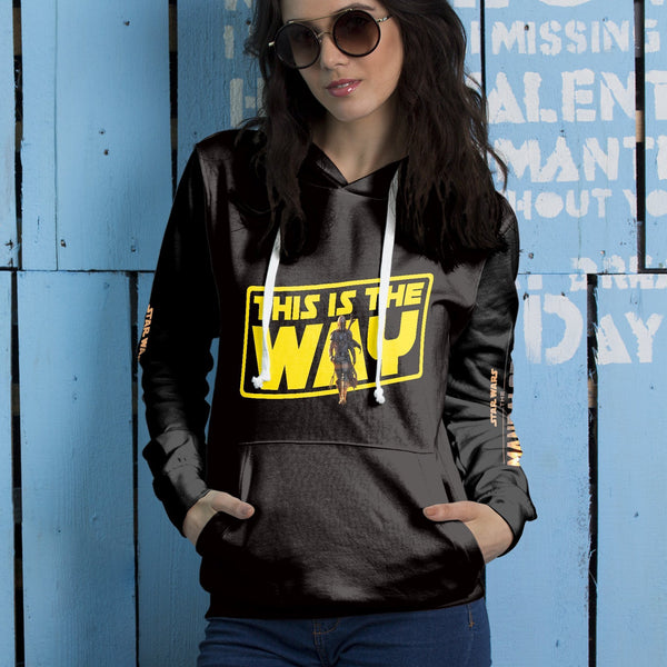 This is the Way Unisex Pullover Hoodie - Fandomaniax-Store