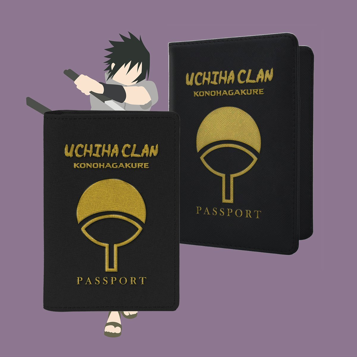 Uchiha Clan Passport Cover - Fandomaniax-Store