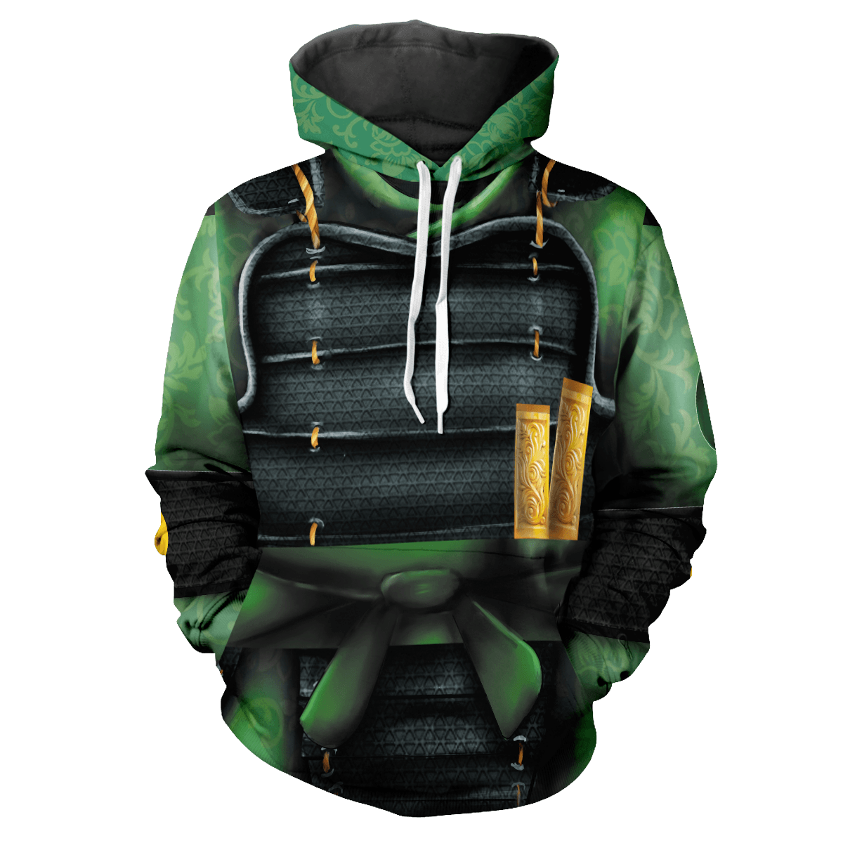 Warrior of Kyoshi Unisex Pullover Hoodie - Fandomaniax-Store