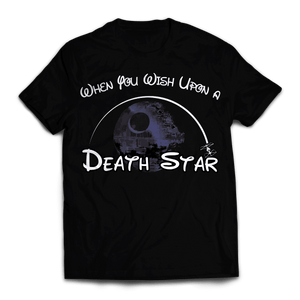 Wish Upon a Death Star Unisex T-Shirt - Fandomaniax-Store