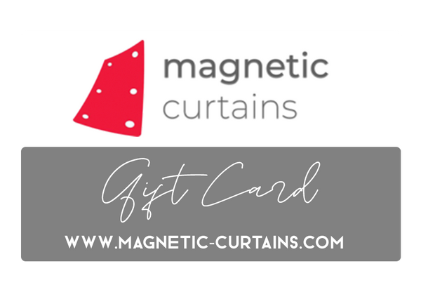 Magnetic Curtains - Gift Cards