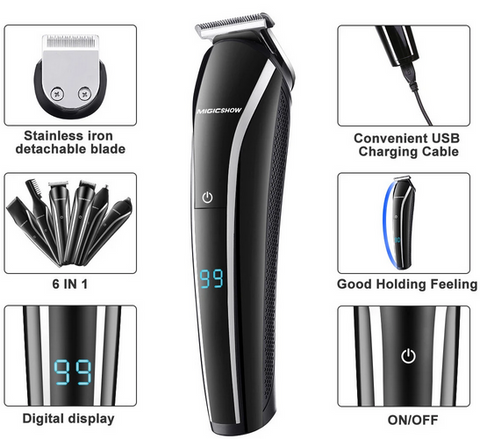 mens hair trimmers cordless rechargeable