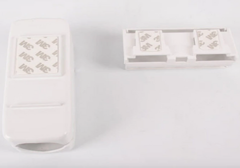 wall mounted adhesive sticks to walls automatic toothpaste dispenser