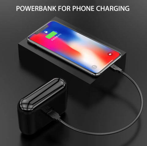 power bank for charging your phone with wireless earbuds case
