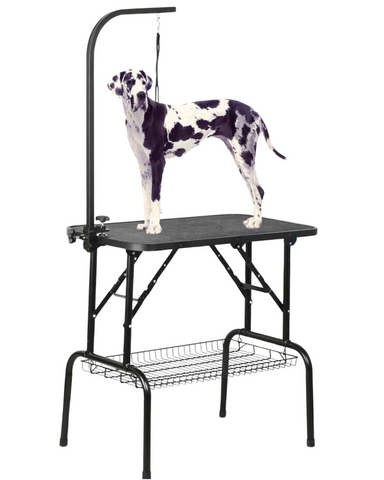 large dog pet grooming table